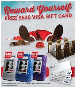 FREE* $600 VISA GIFT CARD